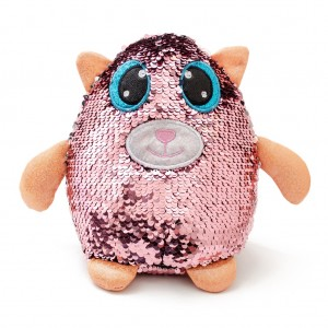 7613 - Peluche lentejuelas reversible 'Catty Queen'